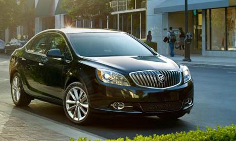 2013 Buick Verano, Front quarter view., exterior, manufacturer