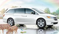 2013 Honda Odyssey, Side View., exterior, manufacturer, gallery_worthy