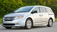 2013 Honda Odyssey, Front quarter view., exterior, manufacturer, gallery_worthy