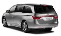 2013 Honda Odyssey, Back quarter view., exterior, manufacturer, gallery_worthy