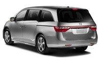 2013 Honda Odyssey, Back quarter view., exterior, manufacturer