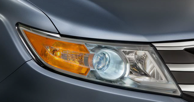 2013 Honda Odyssey, Head light., exterior, manufacturer