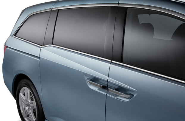 2013 Honda Odyssey, Side Windows., exterior, manufacturer