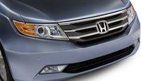 2013 Honda Odyssey, Front Bumper., exterior, manufacturer