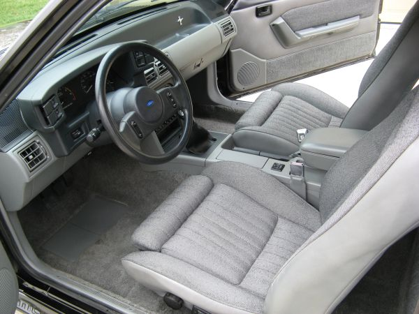 1989 ford mustang interior pictures cargurus