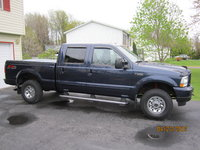 2004 Ford F-250 Super Duty XLT 4WD Crew Cab SB, Blue F-250 XLT  Super Duty 4x4, exterior