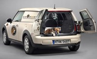 2013 MINI Cooper Clubman, Back quarter view., manufacturer, exterior, interior