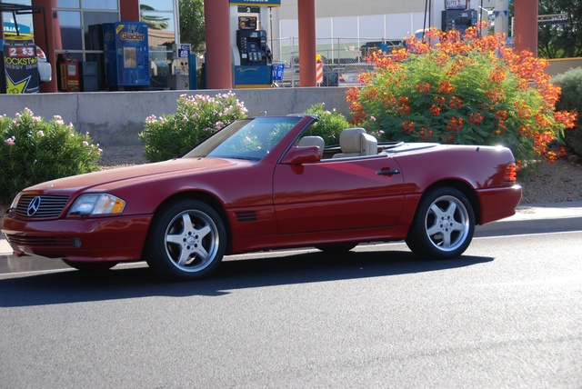 Picture of 1995 Mercedes-Benz SL-Class SL500, exterior