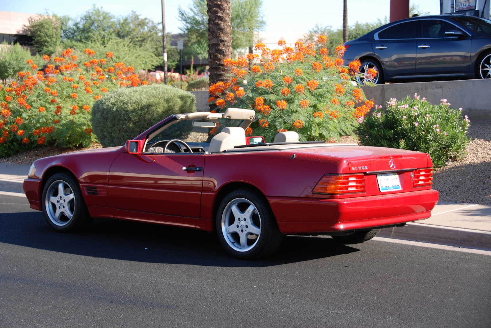 1995 mercedes benz sl class trim information cargurus for Mercedes benz sl convertible