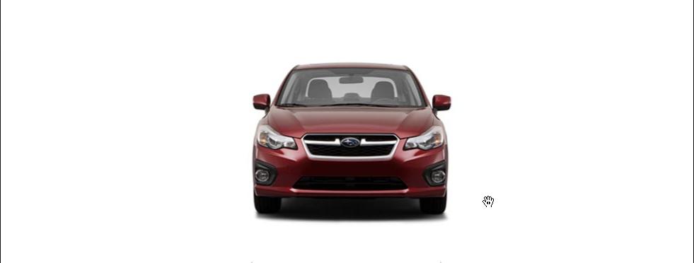 2013 Subaru Impreza, front view full, exterior, manufacturer