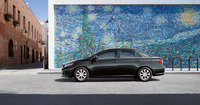 2013 Toyota Corolla, side view full, manufacturer, exterior
