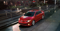 2013 Toyota Corolla, top view, exterior, manufacturer