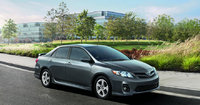 2013 Toyota Corolla, right front quarter view, exterior, manufacturer, gallery_worthy
