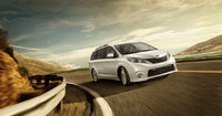 2013 Toyota Sienna, right front quarter view, manufacturer, exterior
