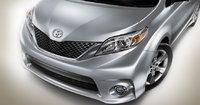 2013 Toyota Sienna, front grill, exterior, manufacturer