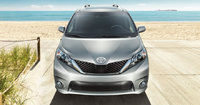 2013 Toyota Sienna, front view full, exterior, manufacturer