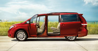 2013 Toyota Sienna, side view full with interior , interior, exterior, manufacturer