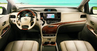 2013 Toyota Sienna, front driver and passenger view, interior, manufacturer