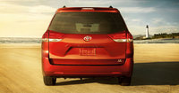 2013 Toyota Sienna, rear view full, manufacturer, exterior