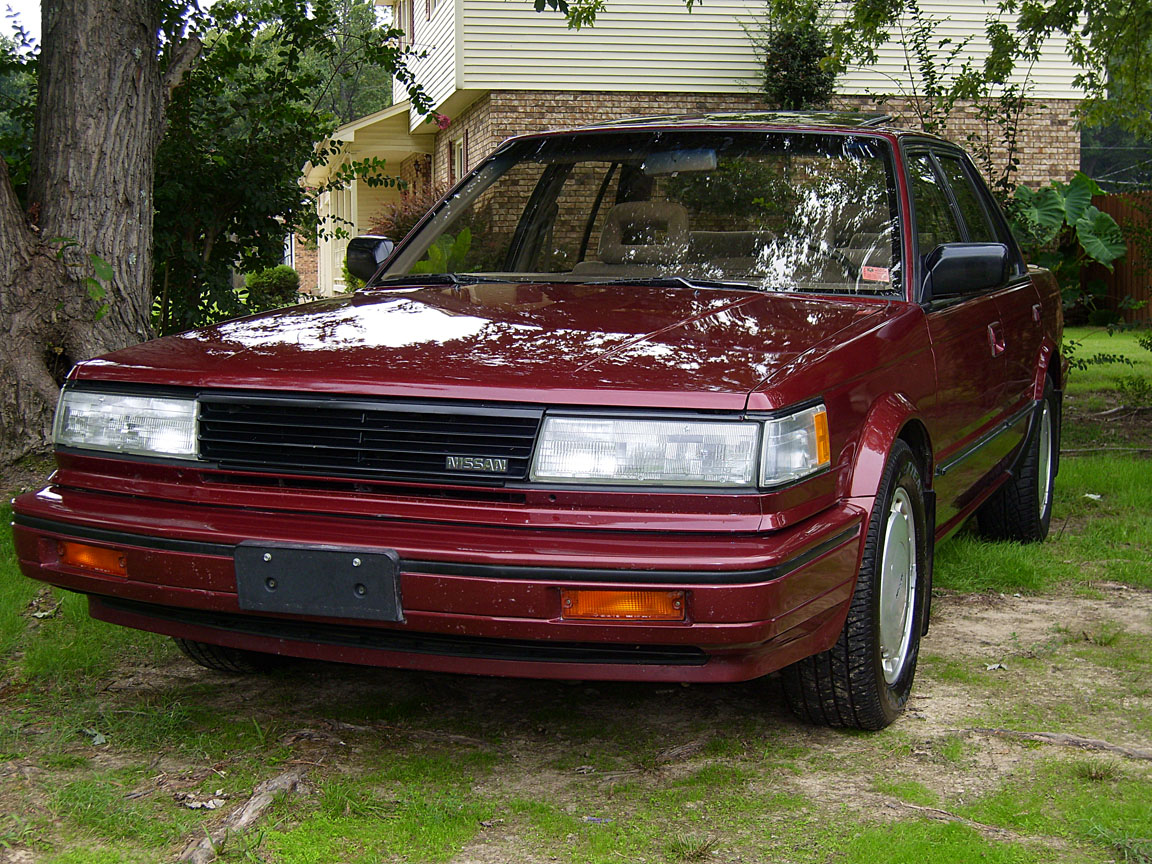 Picture Of 1987 Nissan Maxima Se Exterior