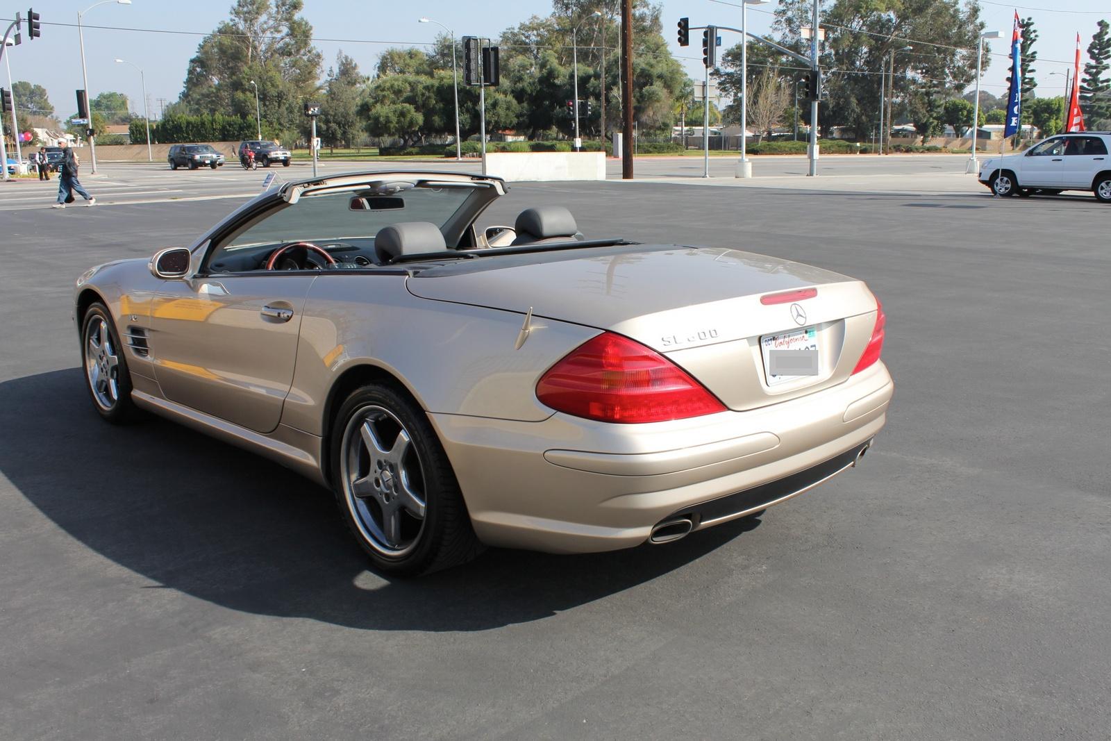 2003 mercedes benz sl class pictures cargurus for Mercedes benz sl 500 2003