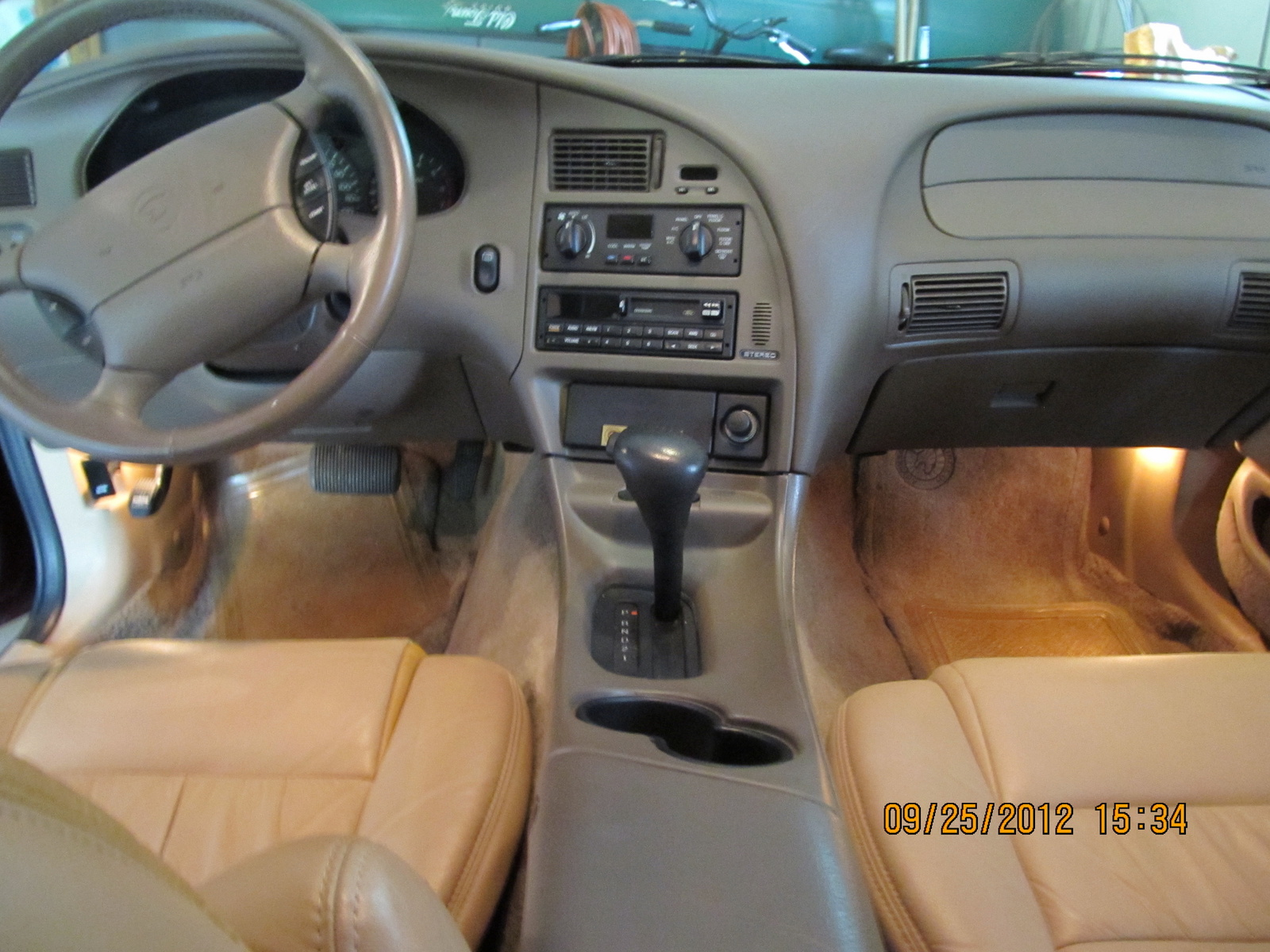 Picture of 1997 Mercury Cougar 2 Dr XR7 Coupe, interior