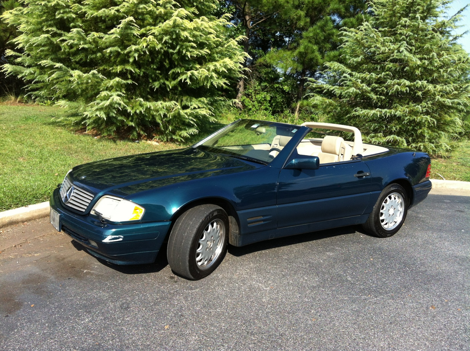 Picture of 1996 Mercedes-Benz SL-Class 2 Dr SL500 Convertible, exterior