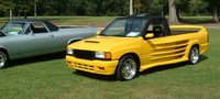 1994 Isuzu Pickup 2 Dr S 2.6 Standard Cab SB, car show in my town 2012..won 3rd place, exterior