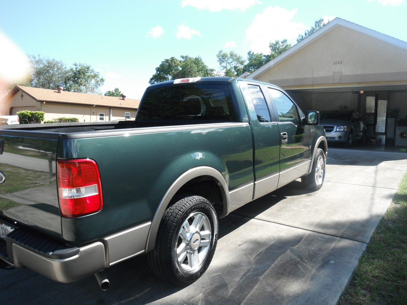 picture of 2005 ford f 150 lariat supercab lb exterior. Black Bedroom Furniture Sets. Home Design Ideas