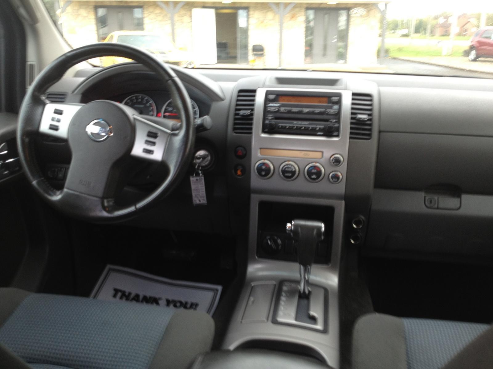 2005 Nissan Pathfinder Interior Pictures Cargurus