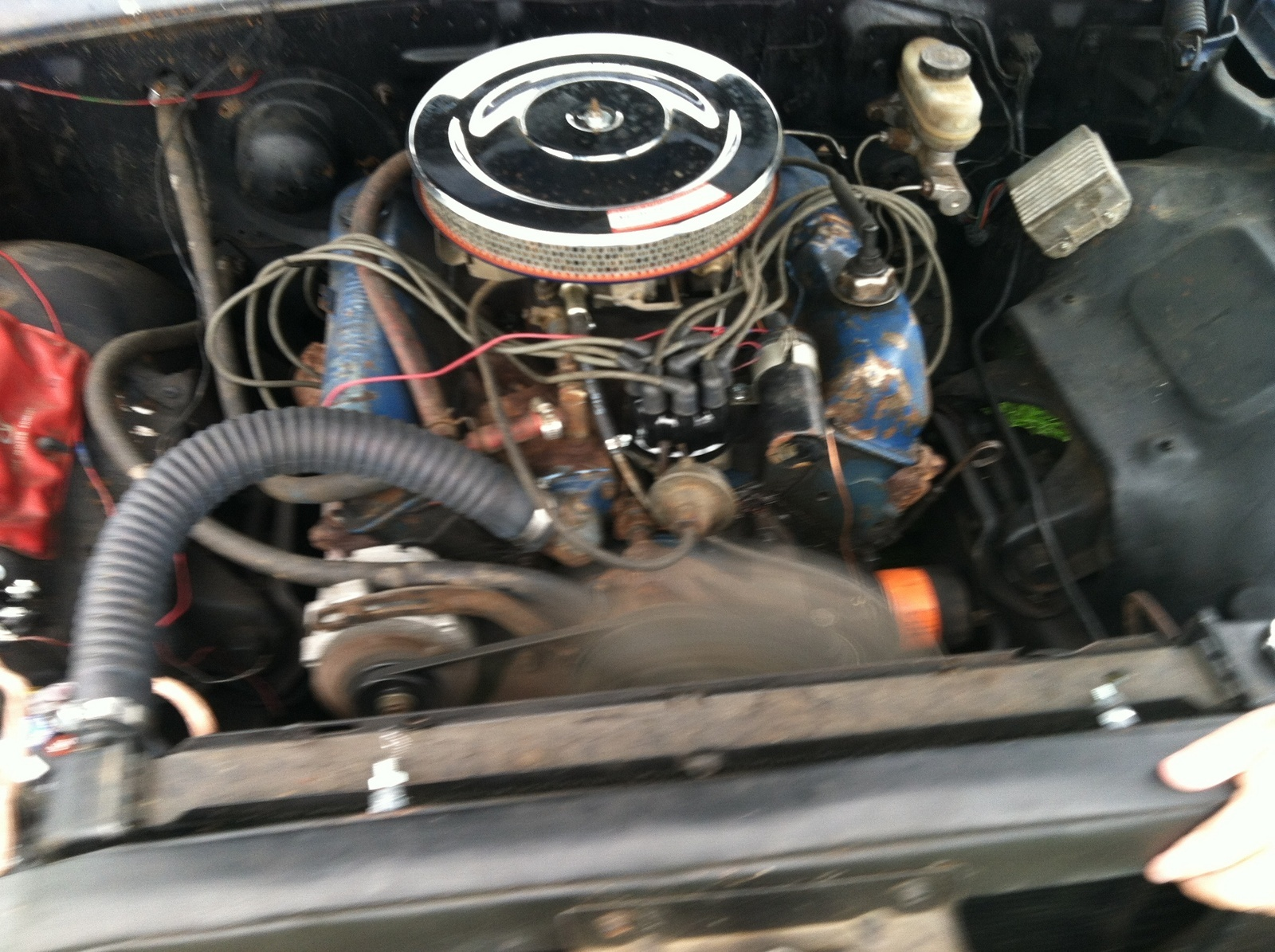 Ford Galaxie Questions I Need To Verify The Engine In My 62 1964 Rear End Codes 500 Was Told By Last Owner That He Believed It A 1971 390 From Pickup Truck