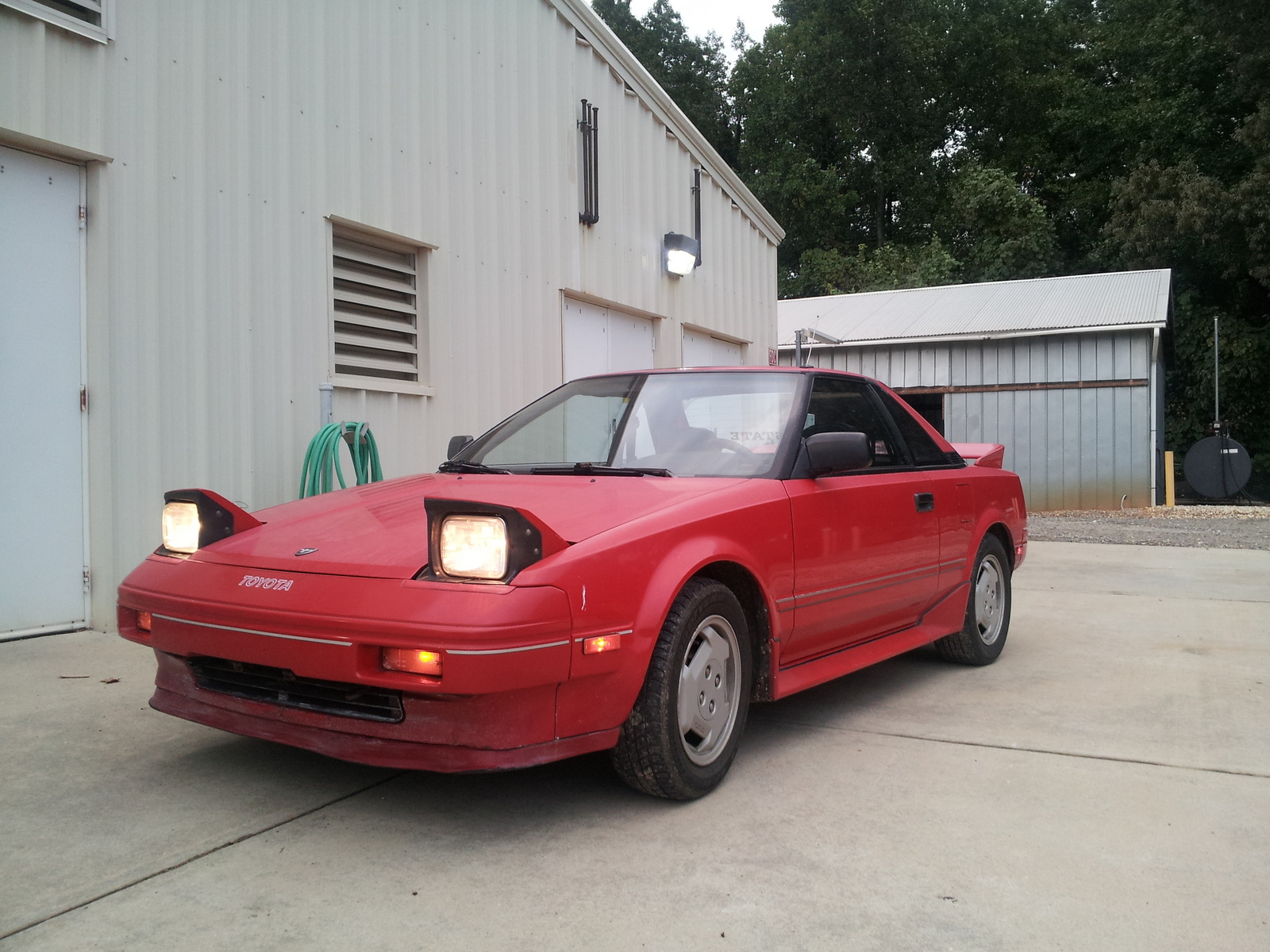 1986 Toyota Mr2 - Pictures