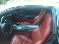 1997 Chevrolet Corvette Coupe, Picture of 1997 Chevrolet Corvette Base, interior