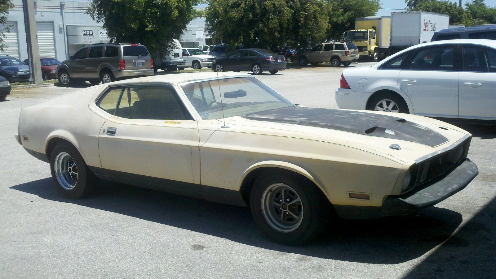 Picture of 1973 ford mustang mach 1 exterior