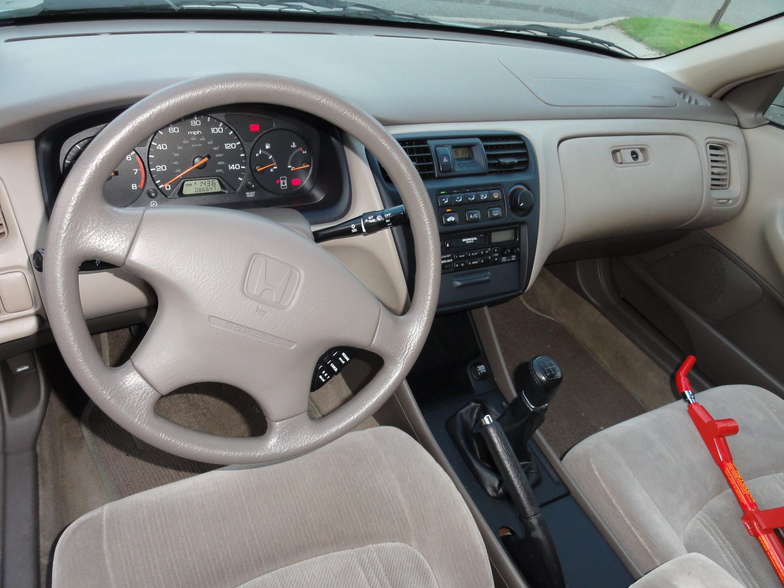 1999 honda accord interior auto blog picture of 1999 honda accord lx interior