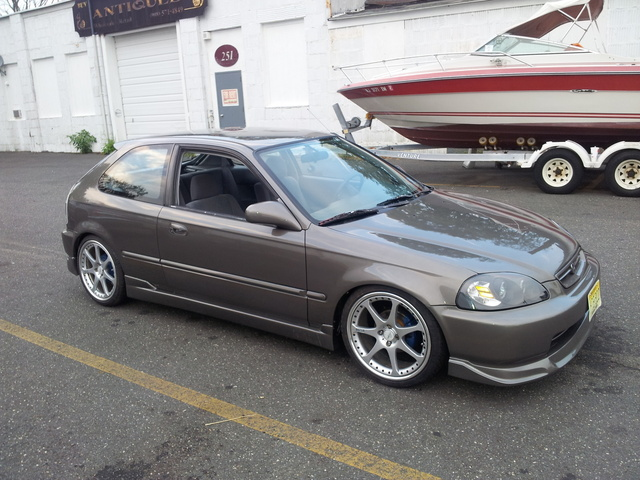 Picture of 1996 Honda Civic DX Hatchback, exterior, gallery_worthy