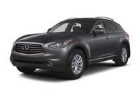 2013 INFINITI FX37, Front quarter view copyright AOL Autos., exterior, manufacturer