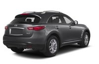 2013 Infiniti FX37, Back quarter view copyright AOL Autos., manufacturer, exterior