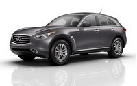 2013 Infiniti FX37, Front quarter view copyright AOL Autos., manufacturer, exterior