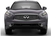 2013 Infiniti FX37, Front View copyright AOL Autos., exterior, manufacturer