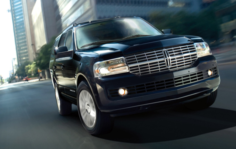 2013 Lincoln Navigator, Front View., exterior, manufacturer, gallery_worthy