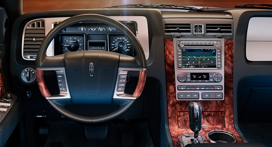 2013 Lincoln Navigator, Steering wheel., interior, manufacturer, gallery_worthy