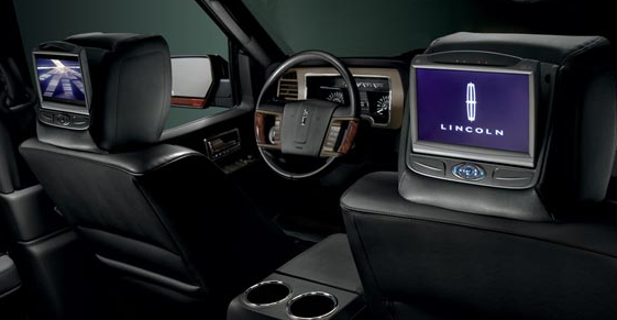 2013 Lincoln Navigator, Back Seat View., manufacturer, interior