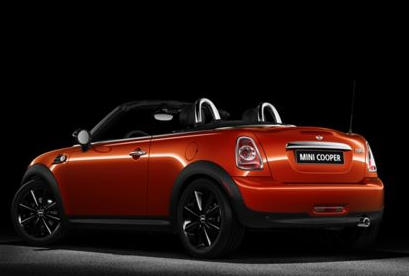 2013 MINI Roadster, Back quarter view copyright AOL Autos., manufacturer, exterior