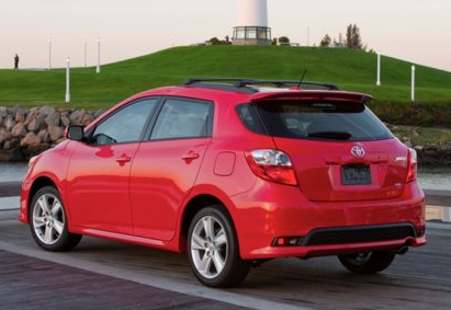 2013 Toyota Matrix, Back quarter view copyright AOL Autos., manufacturer, exterior