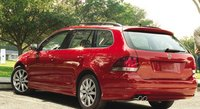 2013 Volkswagen Jetta SportWagen, Back quarter view., exterior, manufacturer
