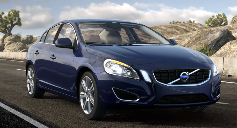 2013 Volvo S60, Front quarter view., exterior, manufacturer