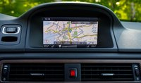 2013 Volvo XC70, Navigation Screen., interior, manufacturer