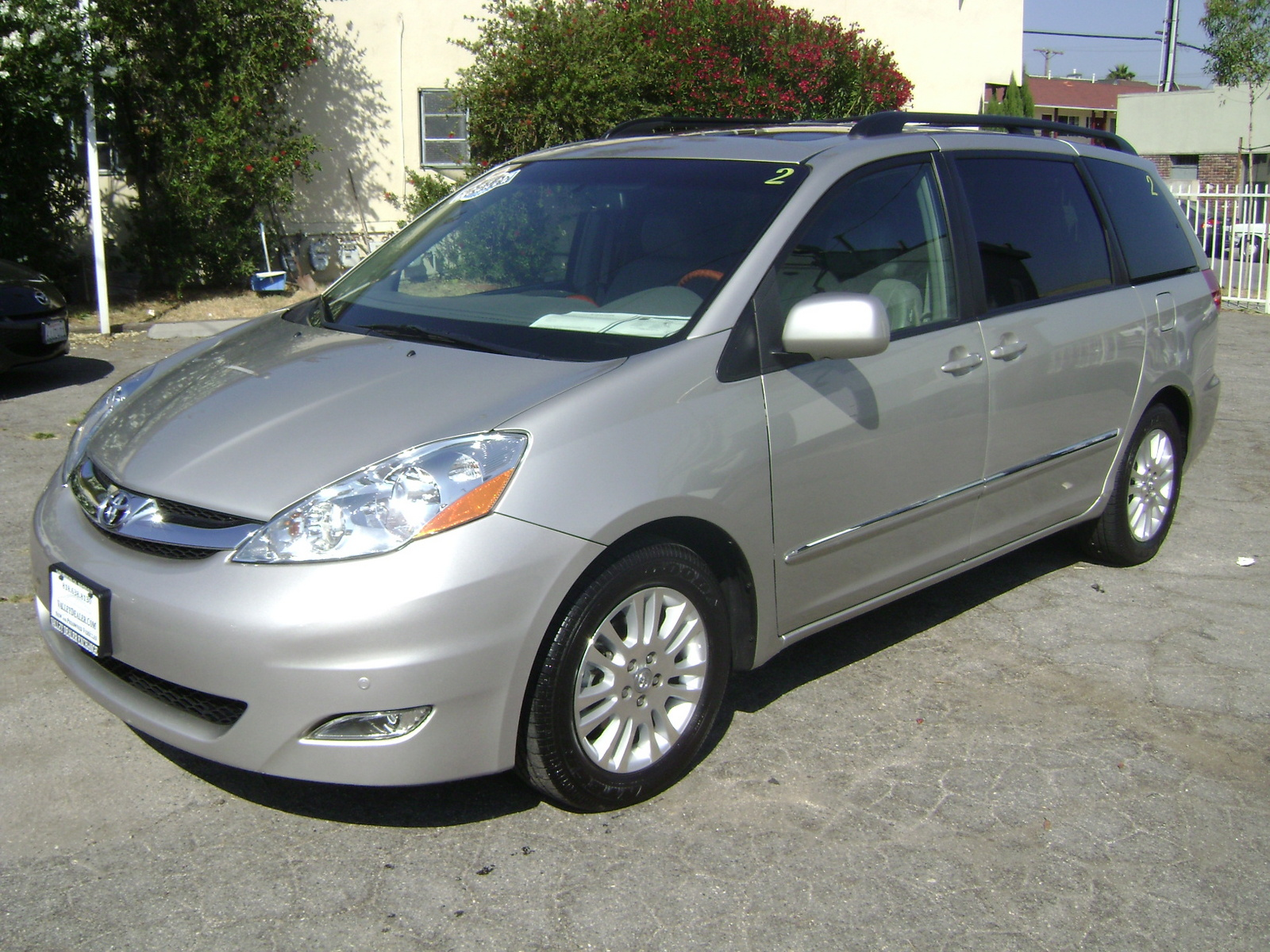 picture of 2009 toyota sienna xle exterior. Black Bedroom Furniture Sets. Home Design Ideas