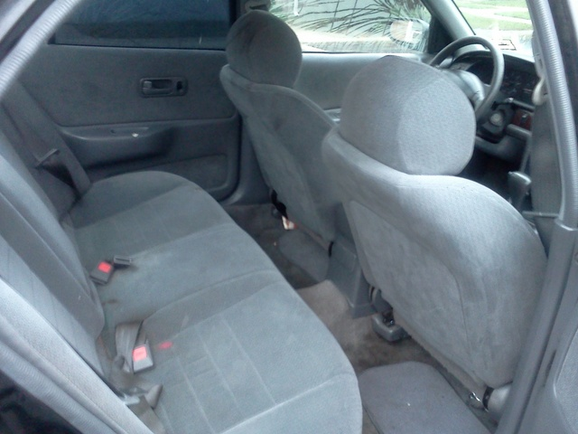 1997 Nissan Altima GXE, TAKE U ANYWHERE, interior